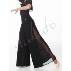Spódnico-spodnie do standardu z wstawką z siateczki