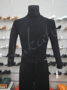 Koszulka męska z półgolfem i długim rękawem