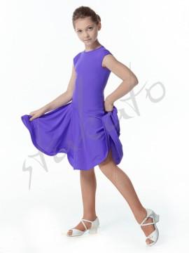 Sukienka turniejowa z włoskim rękawkiem