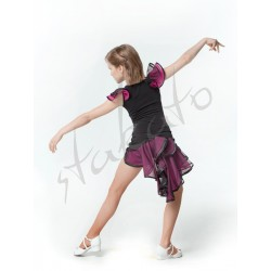 Dance training set - skirt and top with flounce