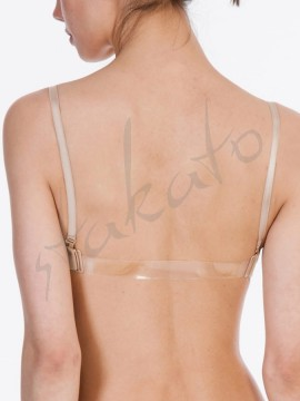 Seamless clear back bra Silky Dance