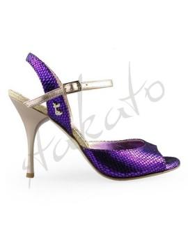 Tangolera style A1 Pitoncino Purple T8