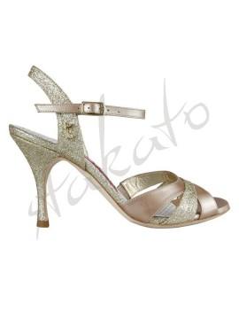 Tangolera style A6 Glitter Platino Perlato T6