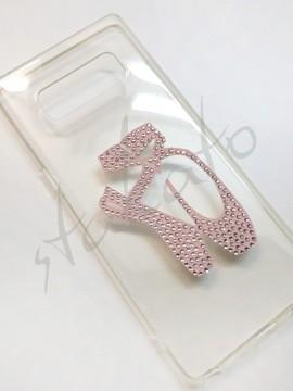 Naklejka z kryształkami na smartfon 4B
