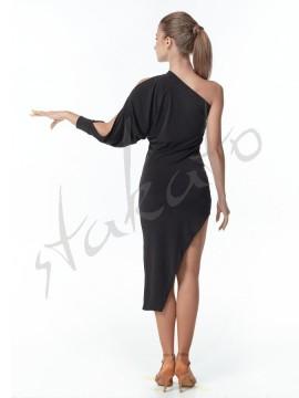 Sukienka mini asymetryczna