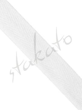 Troczki bawełniane białe Stakato
