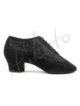 Portdance model PD701 Black Nubuck Glam