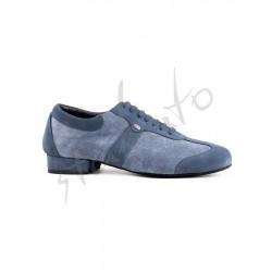 Portdance model PD PIETRO STREET Blue Denim - welur