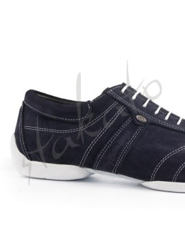 Portdance model PD PIETRO STREET Blue Nubuck - sneaker