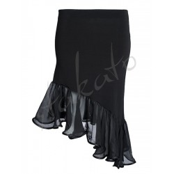 "Skirt ""Latino 3"" with chiffon"