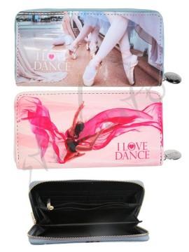 Portfel duży I LOVE DANCE - nowa kolekcja