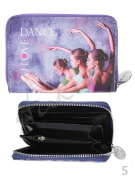 Small wallet I LOVE DANCE - new collection