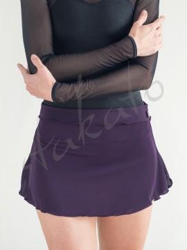 Elastic pull-on skirt Seafoam Juli Garden