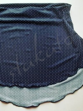 Tunika elastyczna Navy Dots Juli Garden