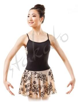 Daaf pull-on flocked skirt Sansha
