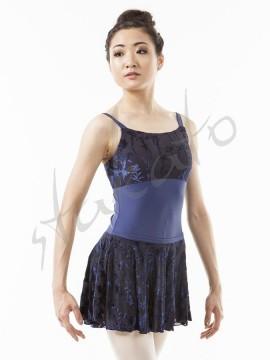 Essa pull-on flocked skirt Sansha