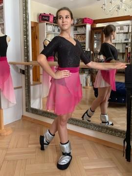Medium wrap skirt Lilu Ombre Pink Juli Garden
