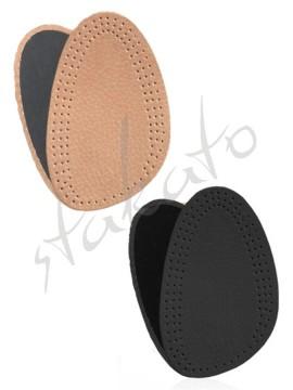 Leather-latex half insoles Halfeld