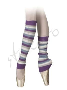 Stripy legwarmers Zebra Sansha