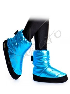 Metallic warm-up boots Tibet Sansha