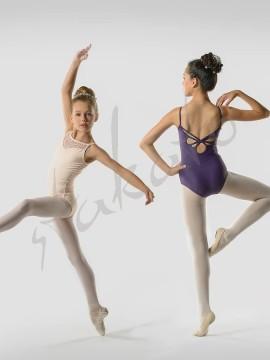 Aura leotard Ballet Rosa