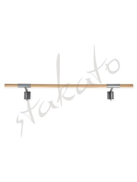 Wall maounted ballet barre Arabesque Single