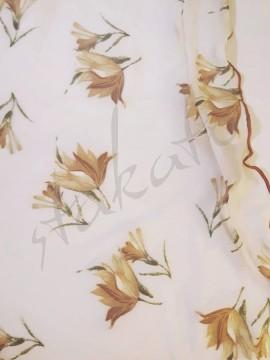 Tunika krótka Lilu Golden Flowers Juli Garden