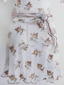 Short skirt Lilu Golden Flowers Juli Garden