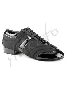 Portdance model PD PIETRO BRAGA Black lycra/Patent