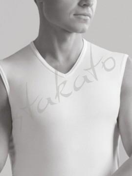 Seamless V-neck shirt Between V