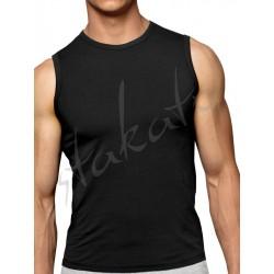 Sleevless vest U-neck Basic