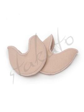 Cotton-gel pointe shoe pad for kids Sansha