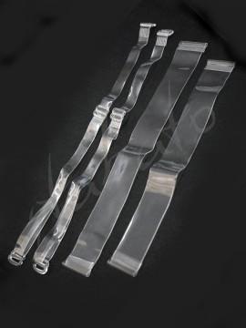 Silikonowe paski do biustonosza - ramiączka i plecy Silky Dance