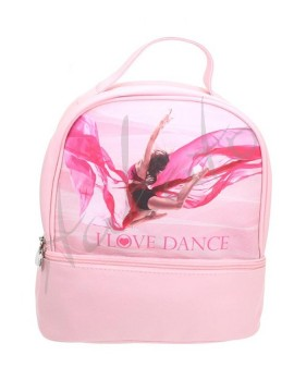 I LOVE DANCE Rose backpack