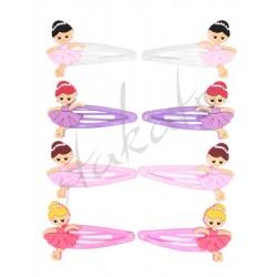 Spinki z baletnicami - 4 pary