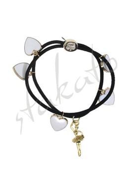 Golden Diva Elastic Bracelet