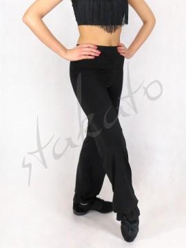 Spodnie z falbanką