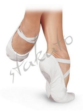 Baletki Pro1C szerokie W Sansha