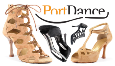 New! Portdance dance shoes